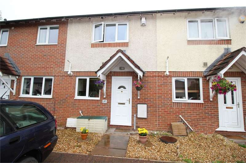 2 Bedrooms Terraced House for sale in CA1 2XG Scotby Close, off Durranhill Road, CARLISLE, Cumbria