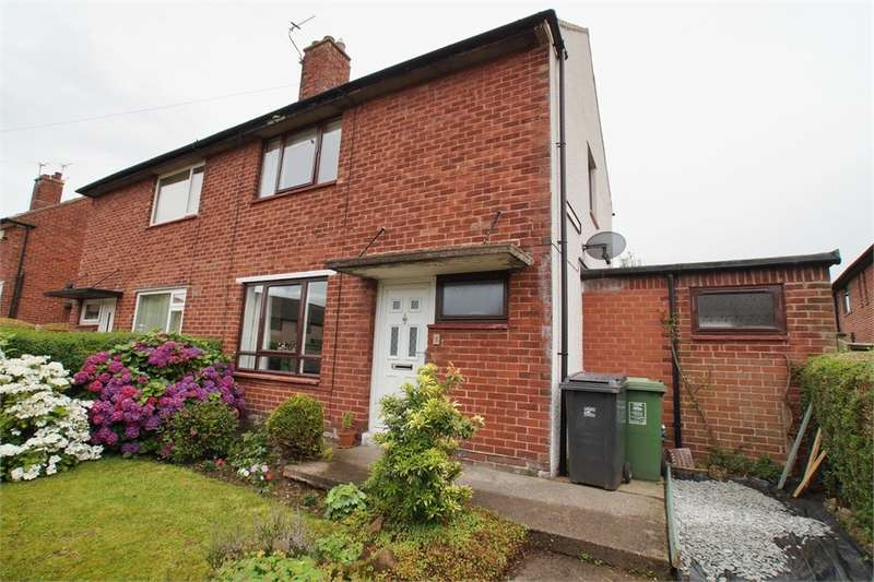 2 Bedrooms Semi Detached House for sale in CA1 2RA Broome Court, Harraby, CARLISLE, Cumbria