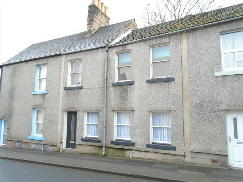 3 Bedrooms Terraced House for sale in CA7 9HJ Market Hill, Wigton, Cumbria