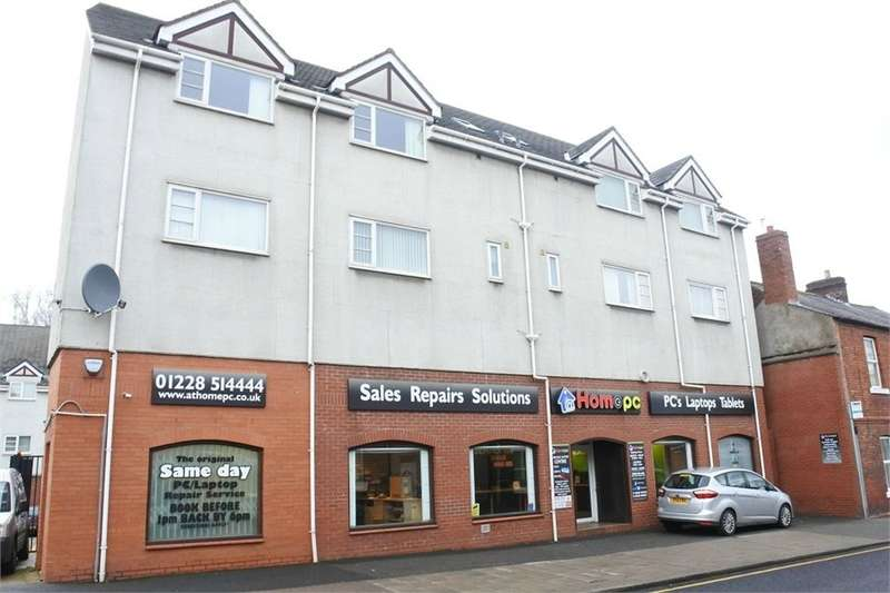 2 Bedrooms Flat for sale in CA2 7AW The Sawmills, Port Road, Carlisle, Cumbria