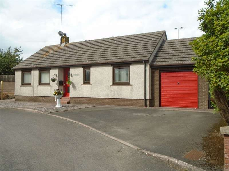 2 Bedrooms Detached Bungalow for sale in CA7 3JL MEADOW CLOSE, Aspatria, WIGTON, Cumbria