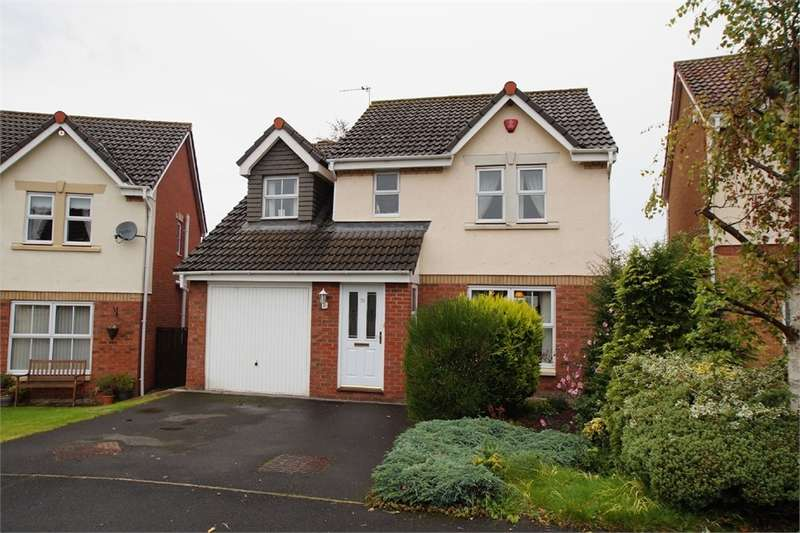 4 Bedrooms Detached House for sale in CA1 3TR Valley Drive, Carleton Grange, CARLISLE, Cumbria