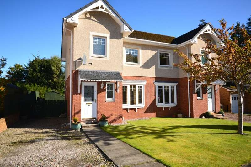 3 Bedrooms Semi Detached House for sale in Moray Park Wynd, Culloden, Inverness, IV2