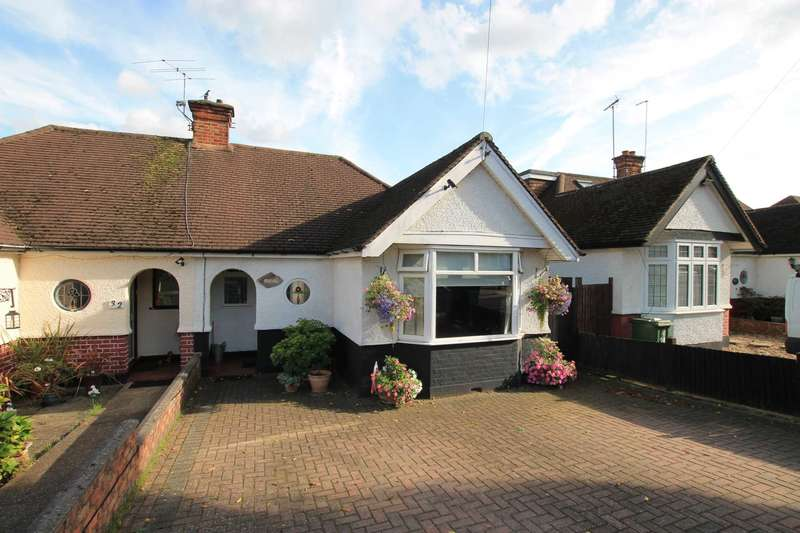 2 Bedrooms Semi Detached Bungalow for sale in Hillrise Avenue, Watford