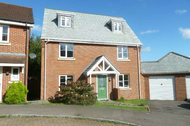 5 Bedrooms Detached House for sale in Ducketts Mead Shinfield Reading