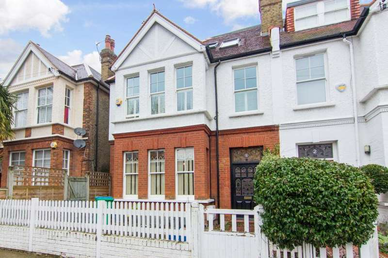 5 Bedrooms Semi Detached House for sale in High Park Road, Kew, TW9