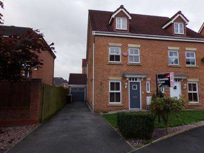 3 Bedrooms Semi Detached House for sale in Abbeylea Drive, Westhoughton, Bolton, Greater Manchester, BL5