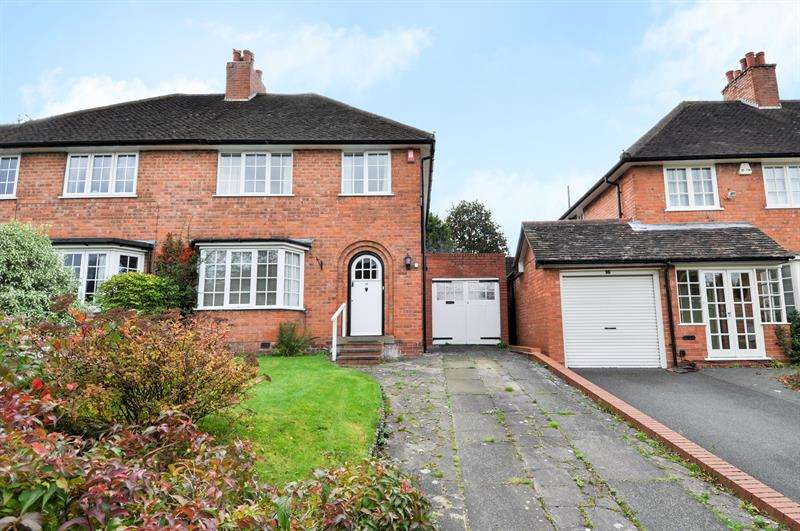 3 Bedrooms Semi Detached House for sale in Hemyock Road, Selly Oak, BOURNVILLE VILLAGE TRUST