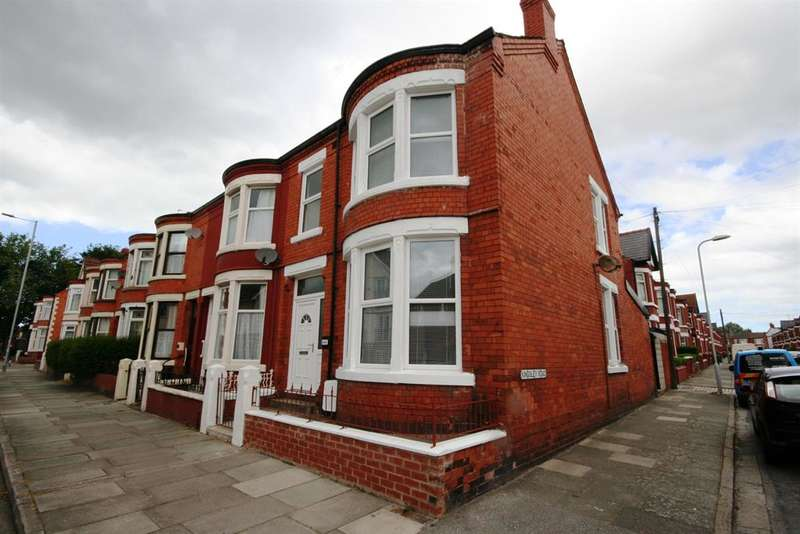 3 Bedrooms End Of Terrace House for sale in Poulton Road, Wallasey, CH44 4DA
