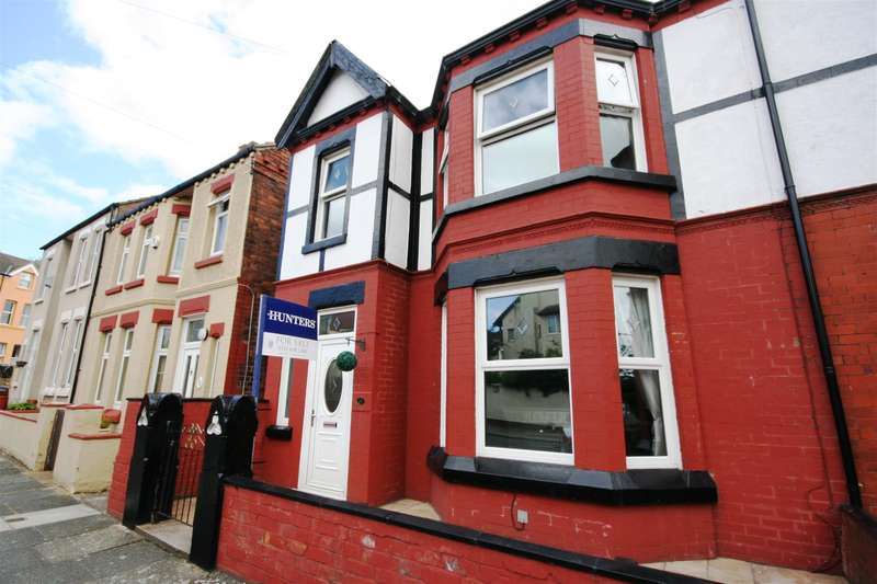 4 Bedrooms Semi Detached House for sale in Shiel Road, Wallasey, CH45 5BY