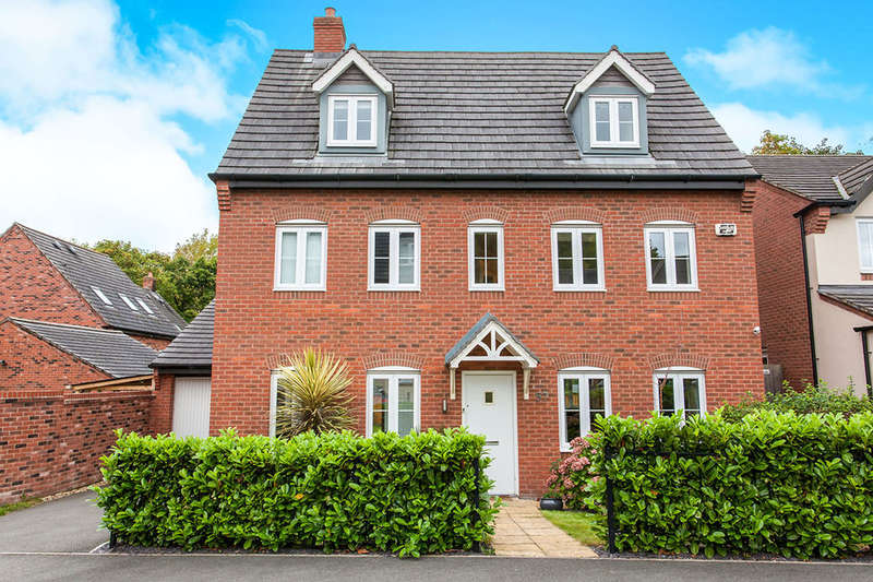5 Bedrooms Detached House for sale in Bath Vale, Congleton, CW12