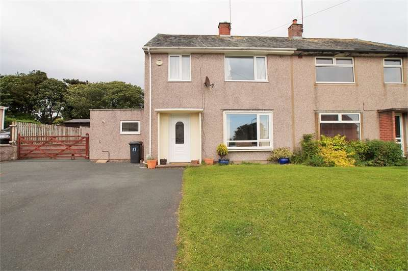 3 Bedrooms Semi Detached House for sale in CA20 1JX Lingmell Crescent, Seascale, Cumbria