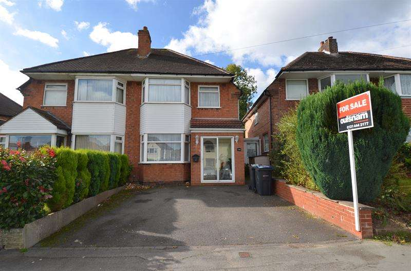 3 Bedrooms Semi Detached House for sale in Yardley Wood Road, Yardley Wood, Birmingham