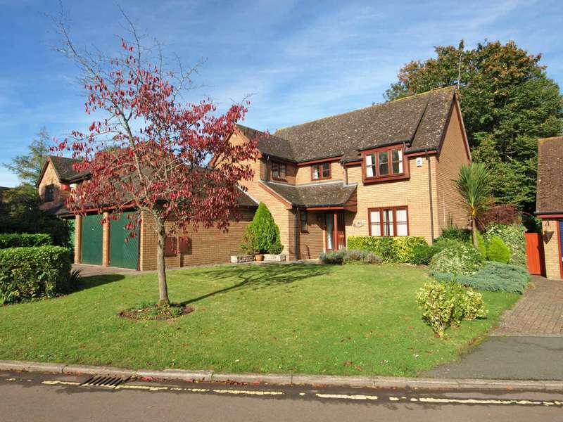 4 Bedrooms Detached House for sale in Hunt Close, Bicester