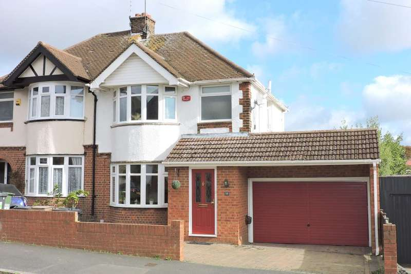 3 Bedrooms Semi Detached House for sale in Walcot Avenue, Luton, Bedfordshire, LU2 0PW