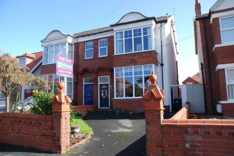 5 Bedrooms Semi Detached House for sale in Cartmell Road, St Annes, Lytham St Annes, Lancashire, FY8 1DE