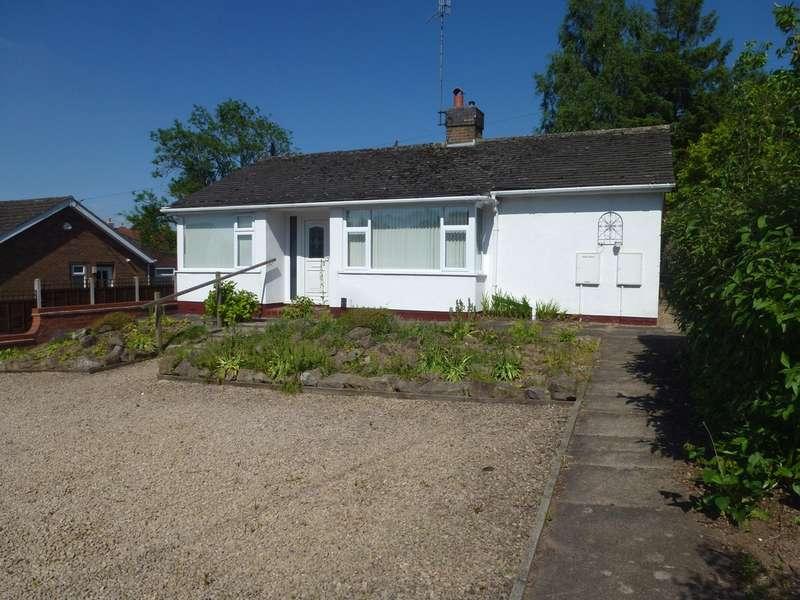 2 Bedrooms Detached Bungalow for sale in Hillside, Castle Donington