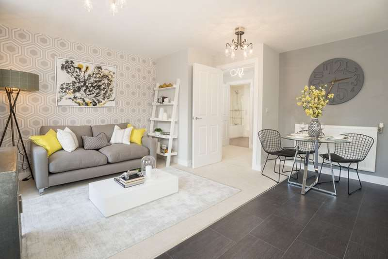 1 Bedroom Apartment Flat for sale in Riverside Square, Bedford, Bedfordshire, MK40