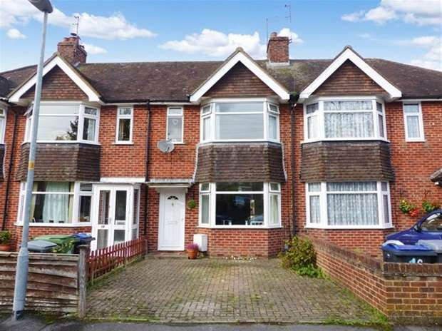 3 Bedrooms Terraced House for sale in Luxfield Road, Warminster