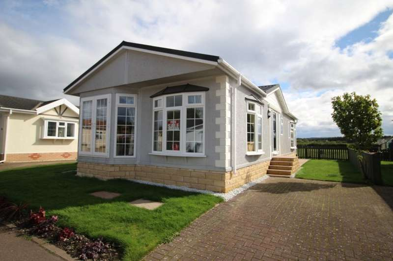 2 Bedrooms Detached Bungalow for sale in Annsmuir Park Homes, Ladybank, Cupar, KY15