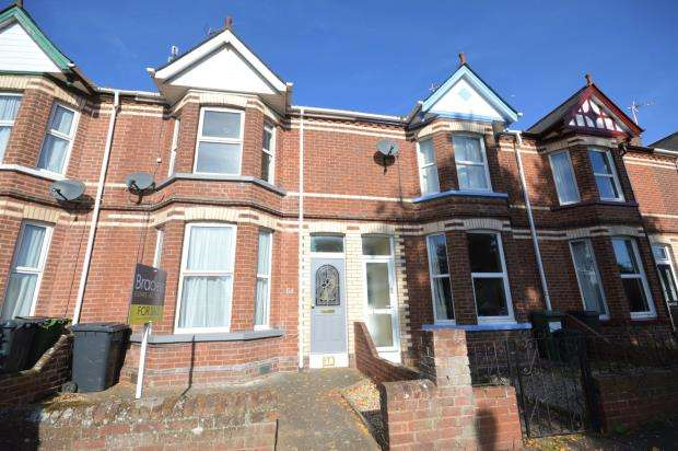 3 Bedrooms Terraced House for sale in Wellington Road, St Thomas, Exeter