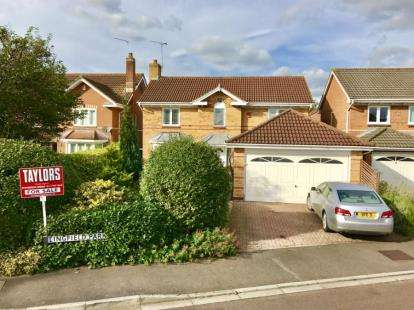 4 Bedrooms Detached House for sale in Lingfield Park, Downend, Bristol