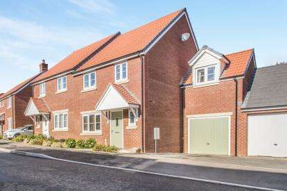 4 Bedrooms Semi Detached House for sale in Bridgwater, Somerset, .