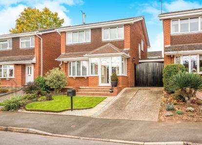 3 Bedrooms Detached House for sale in Whitburn Close, Kidderminster, Worcestershire