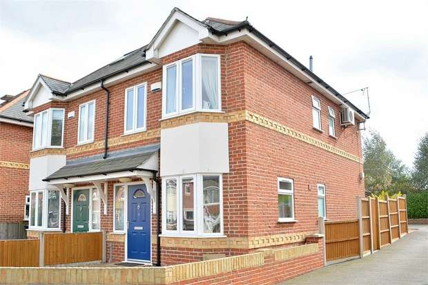3 Bedrooms Semi Detached House for sale in Columbia Road, Bournemouth, Dorset