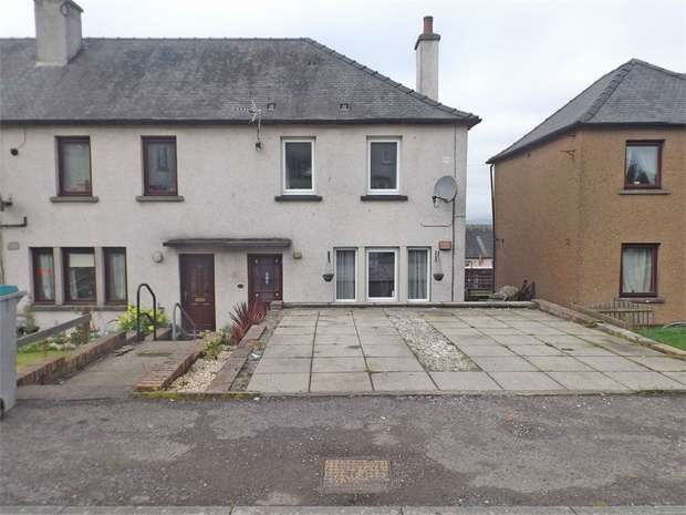 2 Bedrooms End Of Terrace House for sale in Lambhill Terrace, Lockerbie, Dumfries and Galloway