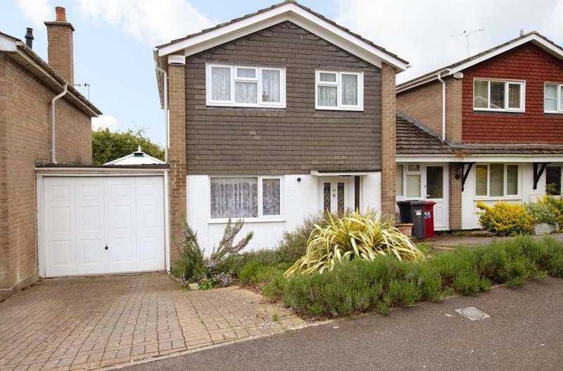 3 Bedrooms Link Detached House for sale in Broomfield Road, Tilehurst, Reading, RG30