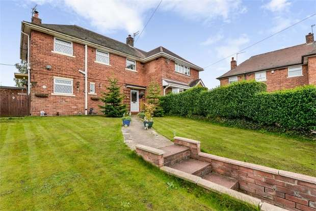 3 Bedrooms Semi Detached House for sale in Brindley Close, Talke, Stoke-on-Trent, Staffordshire
