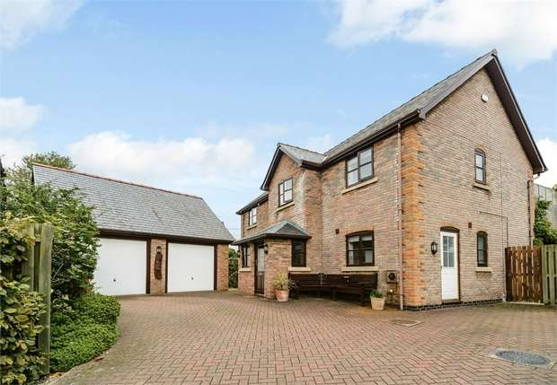 4 Bedrooms Detached House for sale in Pen-Y-Bont, Pen-Y-Bont, Oswestry, Shropshire