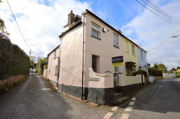 3 Bedrooms End Of Terrace House for sale in Rose Cottages, Coombe Road, Shaldon, Devon
