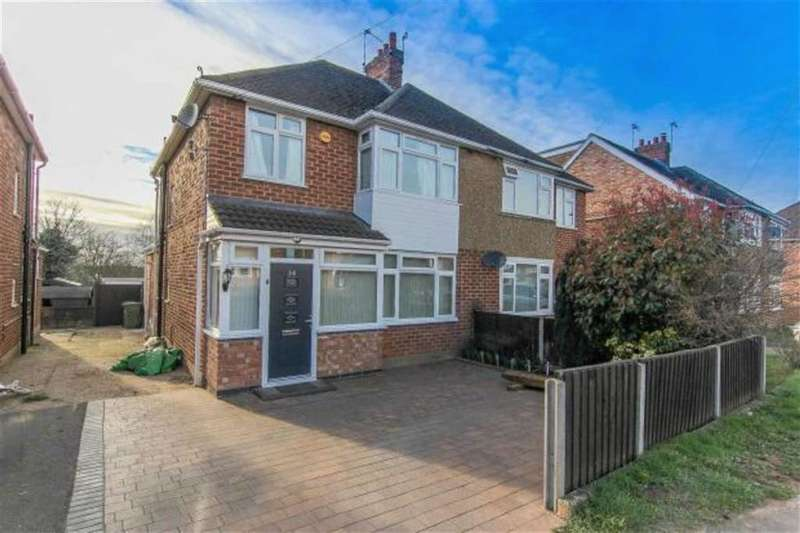 3 Bedrooms Semi Detached House for sale in St Catherines Crescent, Whitnash, Leamington Spa, CV31