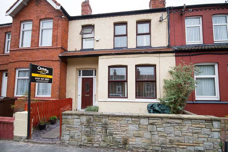 3 Bedrooms Terraced House for sale in Shaftesbury Road, Crosby, L23