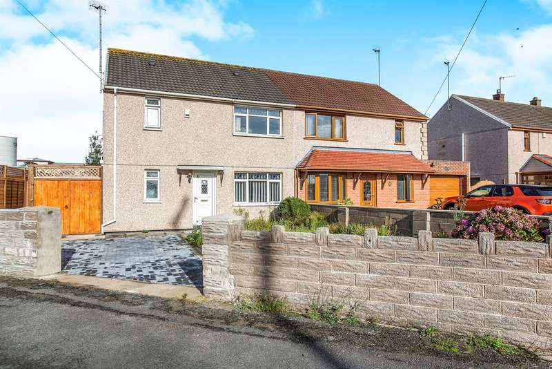 3 Bedrooms Semi Detached House for sale in Brwyna Avenue, Port Talbot