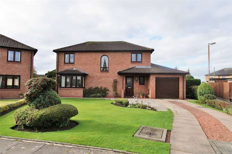 4 Bedrooms Detached House for sale in CA3 0DB Pinecroft, Stanwix, CARLISLE, Cumbria