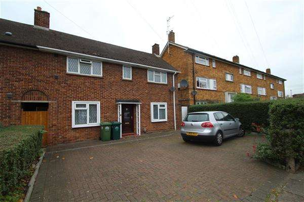 3 Bedrooms End Of Terrace House for sale in Clare Road, Stanwell
