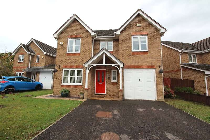 4 Bedrooms Detached House for sale in Stag Way, Fareham