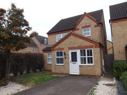 3 Bedrooms Detached House for sale in Kestrel Way, Sandy, Bedfordshire