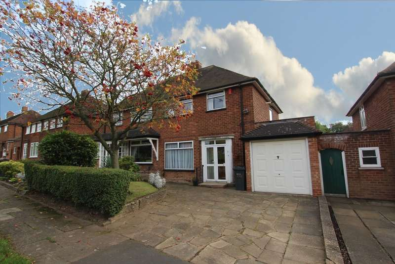 3 Bedrooms Semi Detached House for sale in Rectory Road, Sutton Coldfield, B75 7PA