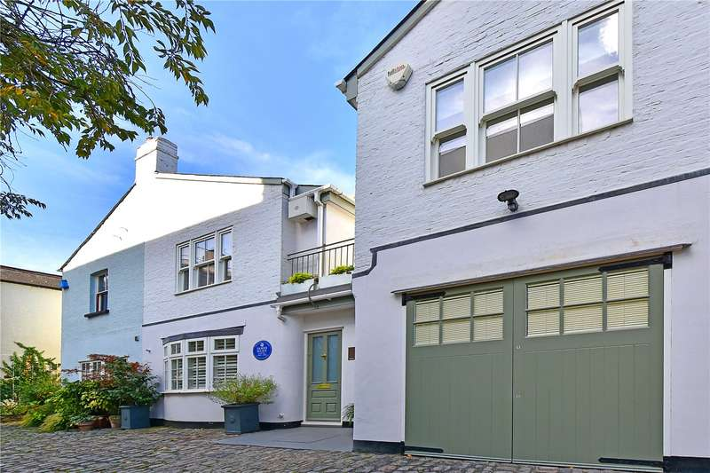 4 Bedrooms Mews House for sale in Normand Mews, London, W14