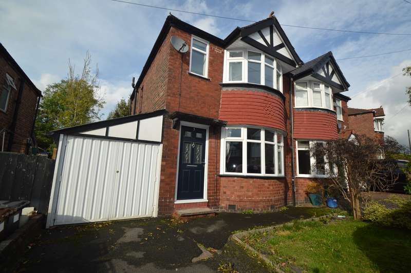 2 Bedrooms Semi Detached House for sale in Hilltop Grove, Whitefield, Manchester, M45