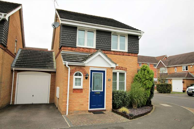 3 Bedrooms Detached House for sale in Ferndown Close, Beggarwood, Basingstoke, RG22