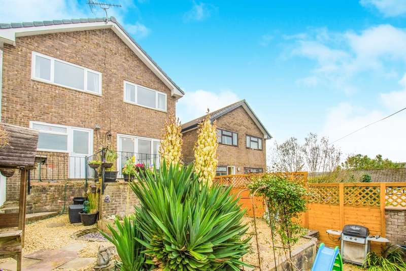 4 Bedrooms Semi Detached House for sale in Greenacre Drive, Bedwas, Caerphilly