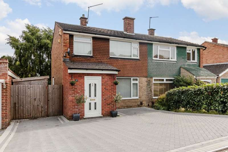 3 Bedrooms Semi Detached House for sale in Forest Drive, Walderslade, Chatham, Kent ME5