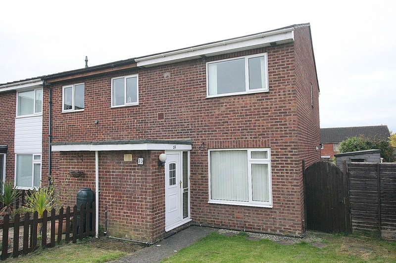 3 Bedrooms End Of Terrace House for sale in Malvern Close, Melksham