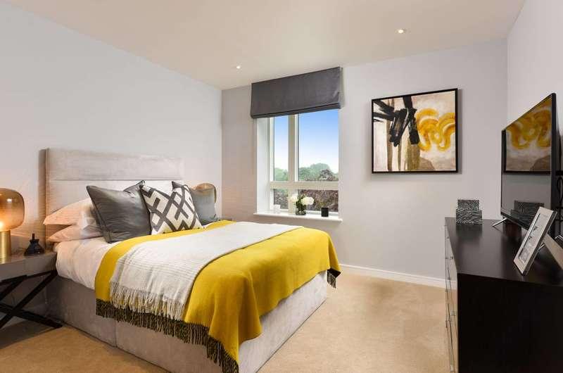2 Bedrooms Flat for sale in Heritage Walk, Brentford, TW8