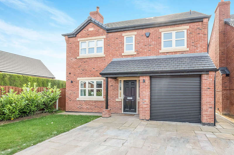 4 Bedrooms Detached House for sale in Swinston Hill Meadows, Dinnington, Sheffield, S25